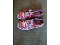 Sketchers Light Up Trainers UK Size 3