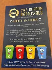 C&S Rubbish Removals - ♻️WHEELIE BIN FRIDAYS♻️