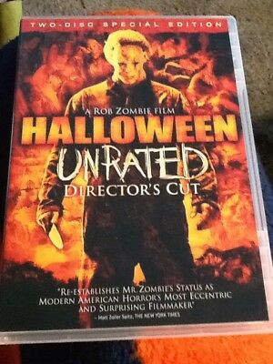 Halloween /Unrated Director's Cut - 2-Disc Set - DVD - Rob Zombie - Halloween Director Rob Zombie
