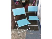 New pair of Garden Bistro Chairs