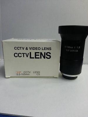 New Manual Iris Manual Focus 5 - 100mm 20x ZOOM 1:1.8 CCTV 1/3