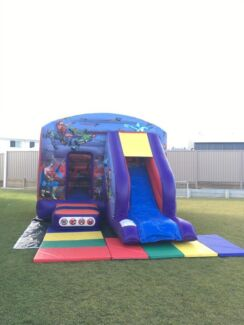 $180 SuperHero Jump and Slide Castle Full Day Hire