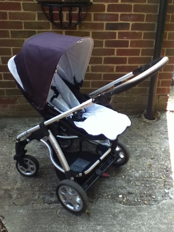Mamas & Papas Sola Pushchair and Carrycot