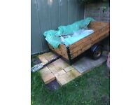 5ft x3ft x430cm trailer for sale ideal for camping
