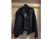 Brand new denim jacket size 22