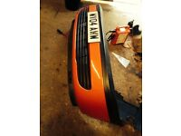 Vauxhall Zafira Red Front Bumper