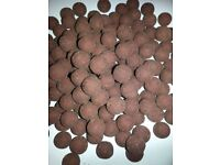 Krill boilies Pilgrim Baits plus Liquid Krill and Wafters