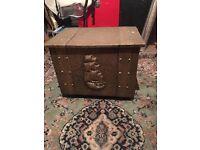victorian coal box