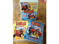 LITTLE RED TRACTOR DOUBLE DVD SET FOR TODDLERS - LETS GO & HAPPY BIRTHDAY HAVE 12 STORIES IN TOTAL