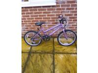 "Universal lambarder 20""girls bike in good working order"