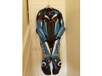 SUZUKI GSXR 1 Piece leather racing suit 46