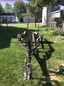 20 foot tilt boat trailer