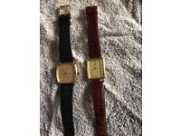 SOLID 9CT 375 GOLD WATCH