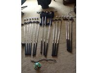 Golf Clubs Set and accessories hardly used