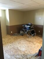 Drywall, taping and more