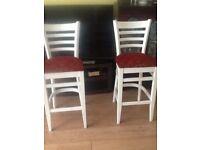 2 long chairs