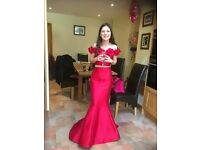 Sherri Hill Prom Dress/TwoPiece Size 0 US Size 4-6 UK