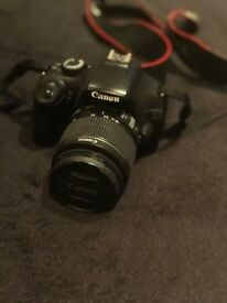 Canon EOS 1100d DSLR 18-55mm lens great condition £250 negotiable