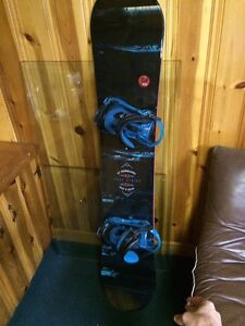K2 fuse series snowboard and boots  with k2 matching bindings