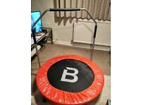 Rebounder, fitness trampoline