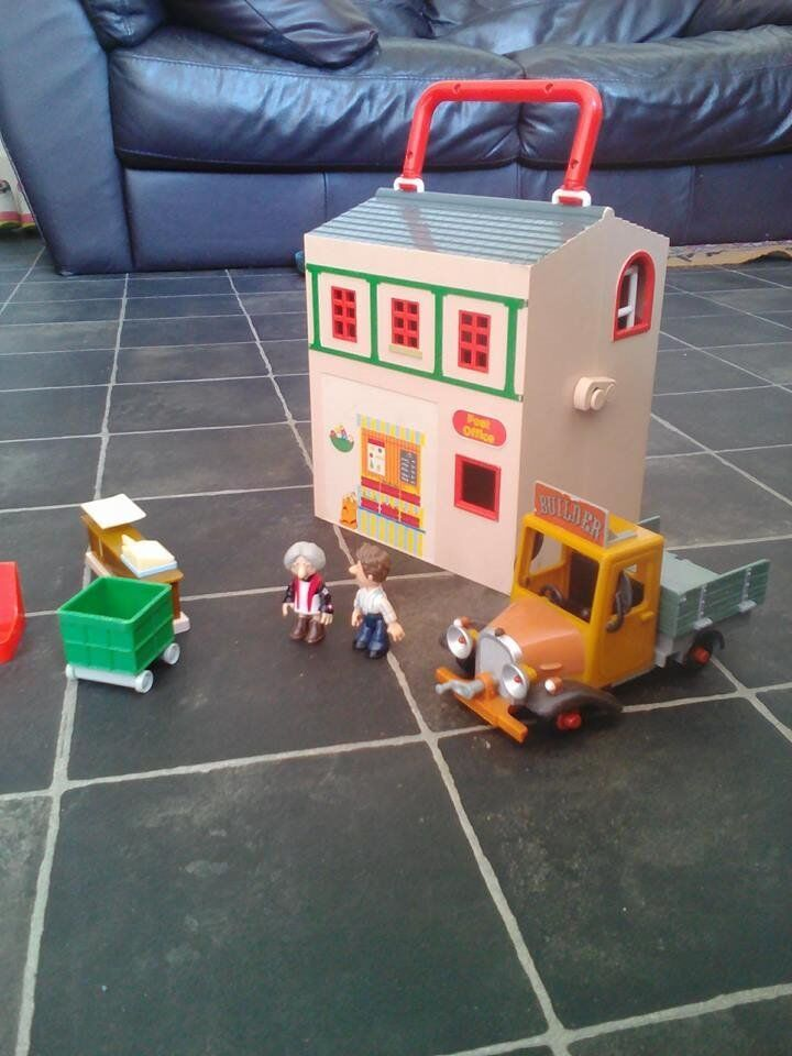 Postman Pat Toy Bundle Post Office Car 2 Figures Etc