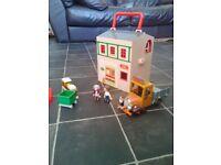 Postman Pat toy bundle post office, car, 2 figures etc.