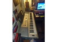 Yamaha DGX 220 Portable Grand Keyboard, 76 Keys With Stand