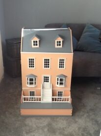 Victorian dolls,houseincluding furniture and people .in very good condition.