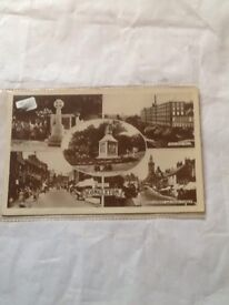 Old congleton post cards