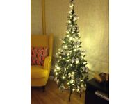 Artificial Christmas Tree 5 ft and fairy light (Other decoration is not included)