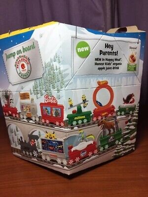 McDonalds Happy Meal Toys Holiday Express Christmas Train 2017 Complete Set