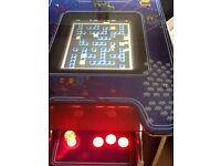 Multi game arcade machine retro cocktail table