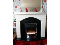 Fireplace with Electric Fire £300