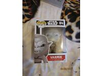 STAR WARS POP VINYL NO 84 VARMIK BRAND NEW GREAT COLLECTABLE