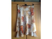 Ladies floral patterned skirt by together size 14