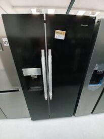 Hisense American Fridge Freezer *Ex-Display* (12 Month Warranty