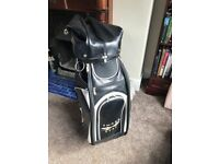 Snake Eyes Golf Bag (Cart) 3 point carry strap
