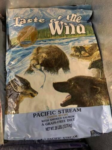 New Taste of the Wild Pacific Stream Grain-Free Dry Dog Food 28Lb - Free Ship