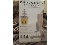 Chocolate fountain. Brand new & boxed