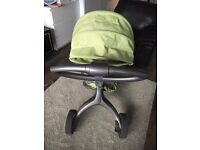 Stokke Xplory v1 - Pushchair with FREE Maclaren Stroller
