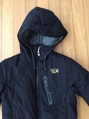 AUTH Mountain Hardwear Black Winter Ski Puffer Parka Jacket XS