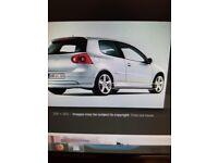 VW GOLF MK5 SIDE SKIRTS