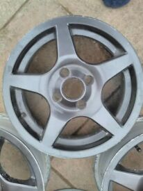 14 inch alloys 4x100 fitment vauxhall Toyota citroen Mazda renault