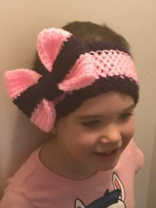 Head bands hand crochet