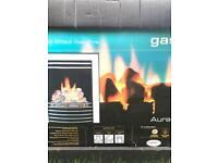 BRAND NEW EX DISPLAY B&Q GAS FIRE