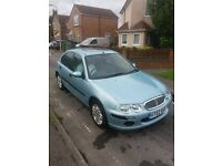 2002 rover 25 automatic 1.6 16v 10 months mot only 55k 5 door cheap to run ideal first car FSH