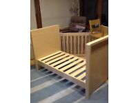 Kub Madera Cot bed and Changer/Dresser unit