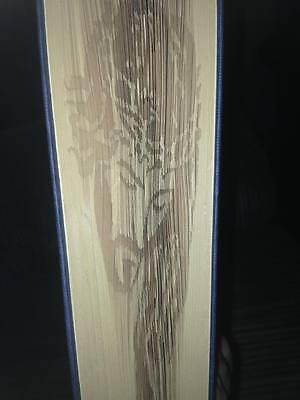 David Bowie Book Art Folding PATTERN Shadow Cut /& Fold Method #1133