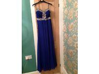Royal Blue Gown Dress