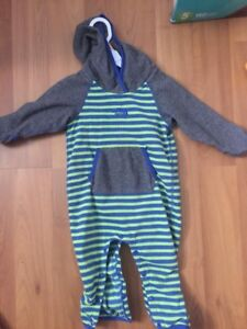 North face fleece suit